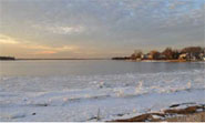 Jamaica Bay at sunset